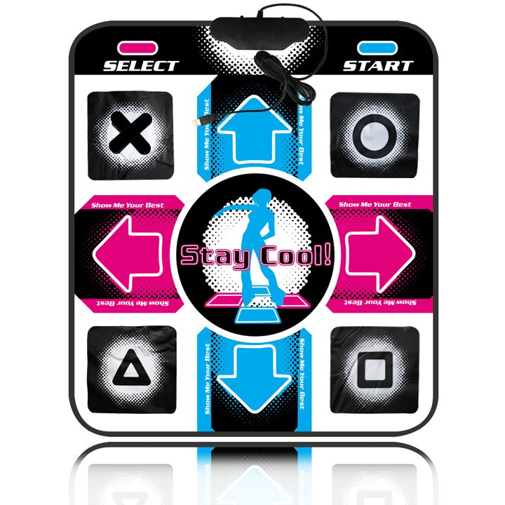 Non Slip Dance Mat Game dancing Pad step dance blanket for PC with USB port