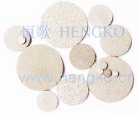 D4*H3 Stainless steel 316L powder sintered filter disc