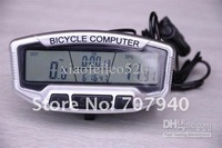 28 Fuctions LCD Cold Backlight Larger Blue Screen Waterproof Wired Bicycle Odometer Multifunction