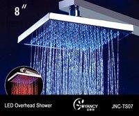 """8"""" led overhead shower"""