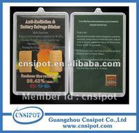 mobile phone anti radiation sticker energy saver chip 50pcs/lot