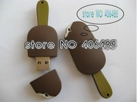 free  shipping  Wholesale  10pcs/lot  4GB 8GB 16GB ice cream USB Flash Memory Drive,l USB Flash Drive with High Speed Chip