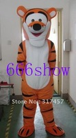 Jump Tiger Mascot Costume Fancy Dress Suit Outfit Animal mascot costume free shipping