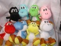 "Soft Plush Super Mario Bros Yoshi Plush Anime 4"" Keychain 200pcs/lot free shipping"
