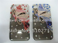 Luxury mermaid crystal full diamond for iPhone 4, Crystal case