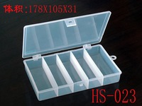 (Manufactuer)Plastic  big fishing lure box with inner divider