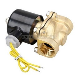 "Electric Solenoid Valve Water Air N/C 12V DC 3/4""(China (Mainland))"