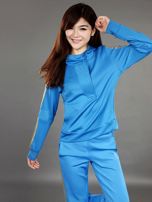 Free shipping sexy fashion women ladies outerwear sportswear hoodies sweathisrt leisure sports wear clothes tracksuits