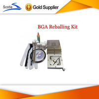 48pcs Intel 80*80mm BGA Stencils+Reballing Station+Solder Flux+Tweezer+Other BGA Accessories
