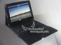 Leather bluetooth keyboard for iPad 2