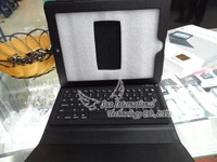 Free Shipping 2 in 1 Wireless Bluetooth Keyboard + Leather Case for iPad 2