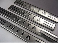 free shipping VW Jetta Stainless Steel Scuff Plate Door Sill (wholesale retail EMS DHL UPS CPAM OR CPAP supported)
