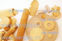 D4.5*H1 Stainless steel 316L powder sintered filter disc