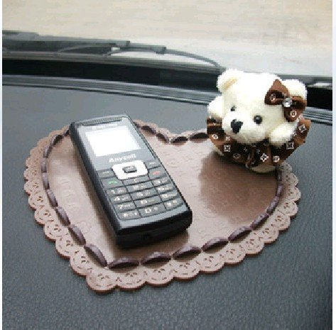 Free Shipping Direct Marketing Powerful Silica Gel Magic Sticky Pad Anti-Slip Non Slip Mat for Phone PDA mp3 mp4 Car 3 color(China (Mainland))