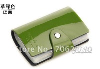 credit card holder,card case,business card holder for lady,2012 free shipping,green color