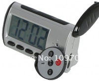 wireless DVR alarm clock Video Surveillance hidden camera With Remote Control and Retail Packing