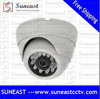 "100% Gurranteed wholesale 1/3"" sharp ccd 420tvl indoor use security CCTV Dome Camera free shipping"