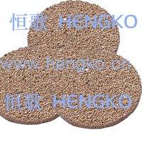 D8*H1.8 Stainless bronze powder sintered filter disk