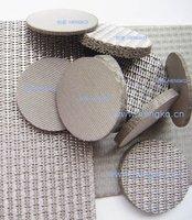 Sintered mesh filter slice