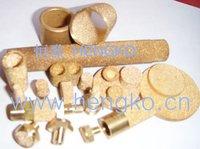 D9*H2 Stainless bronze powder sintered filter disk