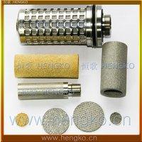 D4.5*H1 Stainless steel 316L powder sintered filter disk