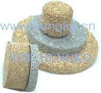D10*H2.5 Stainless bronze powder sintered filter disk