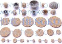 D10*H3 Stainless bronze powder sintered filter disk
