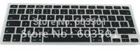 "Silicone keyboard cover for Mac book air 11.6"" EU/UK version, EU version keyboard protector for 11.6"" Mac book Air"