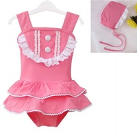 Wholesale 6sets/lot High quality Cover-ups Baby Swimwear Kids' beachwear for girls Pink ETYY06 Free Shipping