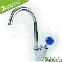 Xiduoli Blue Crystal Pull Out Kitchen Sink Faucet XDL-5003