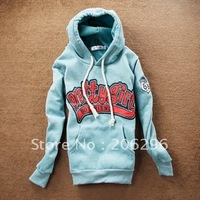 Free shipping ~~!!2012 new arrival,women hoodie, freesize,cotton decoration,large size,~promotion(gray,white,green)