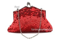 Red,Fashion,Wholsale,Free shipping, Brightest hand beaded bag,wedding accessories bag,  wedding evening bag,dress bag