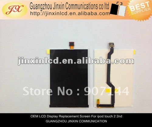 For iTouch Ipod Touch 2nd Gen 2G OEM LCD Replacement Screen By dhl ups ems free shipping(China (Mainland))