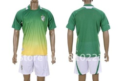Customized Soccer football jersey uniforms12-13 Cote d Ivoire away game-shirt+short.Brand New.Free shipping with tracking(China (Mainland))