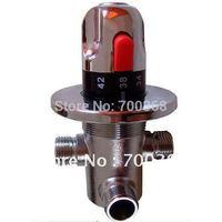 Brass thermostatic valve , DN15 thermostatic valve, Thermastatic Mixing Valves