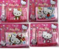 Wholesale - 10 Sets sanrio Hello Kitty girls cartoon wrist watches + wallets   a lot mix order