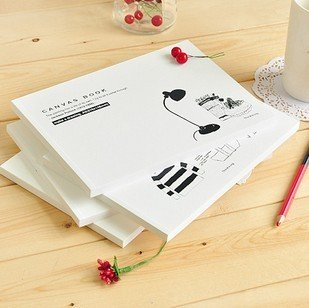 Free shipping!! New Simple Sketch book/Paper Notebook blank Inner Pages/Notepad/Memo pads/Wholesale