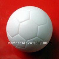 Free shipping 4pcs/lot 31.5mm pure white Foosball table soccer table ball football balls baby foot fussball