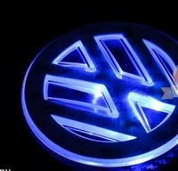Free Shipping     Car Emblem Badges for  bora new Fashion Shiny LED wholesale & retail