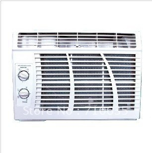 Promotion 100% New Window Air Conditioners CE Certificated 220v 50hz /Free Shipping 9000 BTU Hot Window Air Conditioners(China (Mainland))