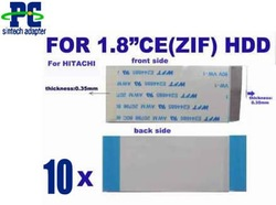 "10pcs FPC ribbon cable for 1.8""ZIF IDE/SATA HDD adapter #A type(Hong Kong)"