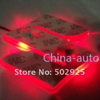 Free Shipping    new Fashion Shiny LED Car Emblem Badges for  Suzuki SX4  Suzuki Jimny  Suzuki Wagon R wholesale & retail