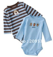 New Hot selling Original baby romper boy&girl's long sleeve romper 100% cotton 5pcs in pack L274