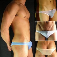 cheap Men's Super Sexy Bikini Milk-like fiber Low-rise underwear Brief Sale #132 6pcs-20%off