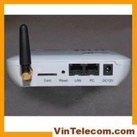 Single channel GOIP VoIP GSM Gateway / GSM-VoIP Gateway  1 chip internet voip gateway-Free shipping