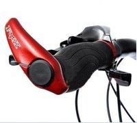 Cycling Bike Bicycle anti-slip Handle Bar Grip red
