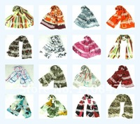 Free Shipping!70 PCS Beautiful 100% Silk Broken beautiful scarf