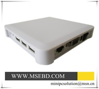 Promotion network pc share thin client terminal used for POS machine Small ticket printer