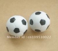 Free shipping 4pcs/lot 36mm bl/wh Foosball table soccer table ball football balls baby foot fussball