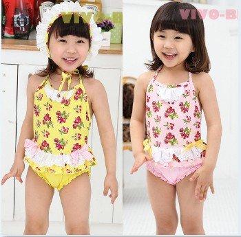 EMS DHL Free Shipping Kid Stylish Baby Girls Ruflle Cherry Bikini Swimsuit Bathsuit beachwear 3 7T Tags : ebony porn tgp, Ebony Pussy, Sexy Ebony Girls